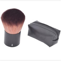 Wholesale Wholesale Kabuki Makeup Brushes - Professional #182 Rouge Kabuki Blusher Blush Brush Makeup Foundation Face Powder Make Up Brushes Set Cosmetic Tools Kit with M Brand Name