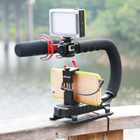 Wholesale Ulanzi U Grip Video Stabilizer Video Handle Grip quot removable tripod mounts for Camera Camcorder Dslr Video