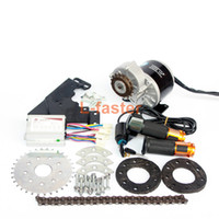 Wholesale bicycle speed gear - 350W New Arrival Electric Geared Bicycle Motor Kit Electric Derailleur Engine Set Variable Multiple Speed Bicycle Electric Kit