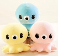 Wholesale Cute Octopus Soft Toy - The legend of the blue sea 17cm Cute Octopus Plush Doll Soft Stuffed Kawaii Octopus Animal Toy 10PCS LOT