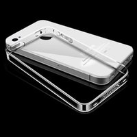 Wholesale Original Iphone 4s Back Cover - Esamday For i4 4s Ultra Thin Soft TPU Gel Original Transparent Case For iPhone 4 4S Crystal Clear Silicon Back Cover Phone Bags