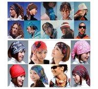 Wholesale Kayak Wear - sunscreen headwear & Seamless Bandana many Ways To Wear - Perfect For Fishing, Camping, Hiking, Football Game, kayak,sunscreen fashion wear