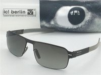 Wholesale sunglasses germany for sale - Group buy sunglasses germany designer sunglasses IC Memory sunglasses for men oversize sun glasses removable stainless steel frame
