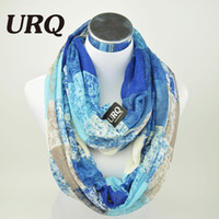 Wholesale Muffler Scarf For Men - Wholesale-Winter Tube Scarves Warm For Women 2016 New Design plaid lady Ring Scarfs Infinity Scarf muffler V8A18430
