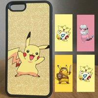 Wholesale Iphone Cartoon Hero Case - CUSTOMIZE Pokee mon cute cartoon hero sport iphone cases back cover for iphone 5 6 6s plus samsung galaxy s6 s7 edge note5