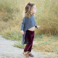Wholesale Trouser Pants For Toddler - Ins New pleuche Leggings For Kids boys girls Baby Tights Children Leggings As Pants Funky Toddler Fashion Trousers Infant Clothes A839