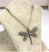 Sansa Stark Vintage Dragonfly Colliers Silver Plated Jeu de Tronos Femmes Colliers Link Chain Cheap Movies Jewelry