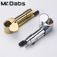 Wholesale Tools Hid - Brass Proto Smoking Pipe Metal Portable Pipes Golden Color China Direct Ultimate Tool Tobacco Oil Herb Hidden Bowl at Mr_Dabs