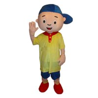 Wholesale Caillou Adult Costume - 2017 hot sale Caillou Mascot costume Adult size Caillou Mascot costume Free shipping