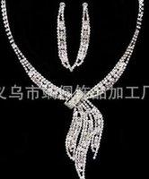 ingrosso matrimonio 88-corona di orecchini di collana di cristallo bianco sposa gioielli jewerly (88)
