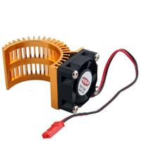 motor del ventilador enfriador al por mayor-Enfriamiento de la fan del disipador de calor DC5V del motor del alum 540 de RC HSP para el camión modelo del coche
