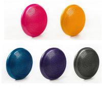 yoga denge egzersizleri toptan satış-33 cm Dayanıklı Evrensel Şişme Yoga Bükülmez Istikrar Dengesi Disk Masaj Minderi Mat Yoga Egzersiz Fitness Masaj Topu