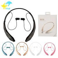 Wholesale Head Stereo Bluetooth - HBS902 classic stereo music bluetooth earphone sport headphone wireless headset earphone Heads-free style earphone