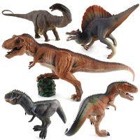 Wholesale Dinosaur Toys Big - Jurassic Dinosaur Model Toy Big Simulation Dinisaurs King T-Rex Figures Toys Set For Kids Birthday Party Decoration
