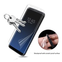 Wholesale Screen Protector Full Coverage Explosion Proof TPU soft film For S8 Note iphone