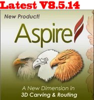 Wholesale Latest Version Vectric Aspire V8 For Win Bit Support For Multi Language Full Function Fast Shipping