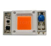 Wholesale Grow Light Led Driver - Driverless high power 50W AC110V   220V LED chip built-in driver Full Spectrum 400-840nm Pink Light for plant grow