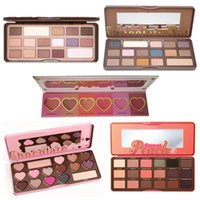 HOT Makeup 5 style perfect Ombretto blush 16 Color Chocolate Bar semi-dolce Bon Bons Sweet Peach Palette love flush blush plates