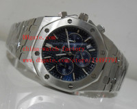 Wholesale Makers Factory - 2 Color High Quality Watch N8 Factory Maker 42mm Stainless Steel 26320ST.OO.1220ST.01 VK Quartz Chronograph Working Mens Watch Watches