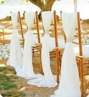 ingrosso sgabelli da fibbia-Fodere per sedie da sposa bianche / beige con fibbia in diamanti, decorazioni per banchetto per feste di anniversario