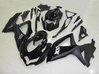 Wholesale Gsx R Matte Black - New ABS Fairings kit injection molding For suzuki GSXR 600 750 2008 2009 2010 K8 GSXR600 GSXR750 08 09 10 GSX-R 600 750 glossy matte black