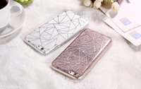 Wholesale Wholesale Oppo Mobile - For OPPO R9 PLUS R9S PLUS A39 A59 Capa Cover Case Glitter Powder Silver Rhombus Soft TPU & Hard PC Mobile Phone Case