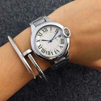 Wholesale Womens Watch Bronze - HOT New Fashion classics Womens Watches Brand desi Rome striae Gold Watch Ladies Quartz Wristwatch Clock Relogio Feminino Relojes Mujer