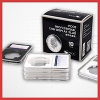Wholesale Hot Sale Regular Acrylic New Style Rectangle Coin Identify Case set Drop Shipping