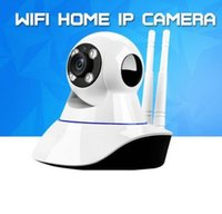 Wholesale Ip Retail - Home Security Wireless Mini IP Camera Surveillance Camera Wifi 720P Night Vision CCTV Camera Baby Monitor With the Retail Box