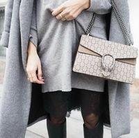 Wholesale Envelope Handbags Newest - Newest Style high quality Fashion Vintage 28cm womens Fashion brand Leather handbags shoulder Bags tote envelope bag Cross Body totes purse