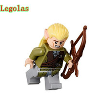 Wholesale Toy Lord Rings - Single Sale The Hobbit Lord Of The Rings DIY Tauriel Aragorn II Models & Building Blocks Collection Toys For Children Bloques
