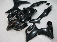 Wholesale Honda Rr Plastics - Body Kits CBR125R 2005 Fairing Kits for Honda CBR125R 2003 Black Plastic Fairings CBR 125 RR 04 05 2002 - 2006