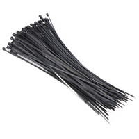 Wholesale Wire Ties Black - Newest 100pcs Nylon Plastic Zip Trim Cable Loop Ties Wire Self-Lo 200 x 3mm Black Promotion
