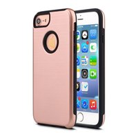 Wholesale Lg Shockproof Waterproof Phone - For iphone6s Plus Phone Case 2 in 1 TPU with PC shockproof waterproof case cover for galaxy S5 s6 edge s7 s7 edge note 5 7
