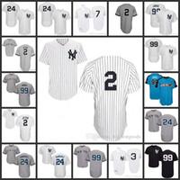 Wholesale Mantle Man - New York Yankees Jersey 2 Derek Jeter 24 Gary Sanchez 99 Aaron Judge 7 Mickey Mantle Babe Ruth 2017 All Star Baseball Jerseys