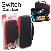 Wholesale Pouch Hard Shell Case - For Nintendo Switch Game Bag Carrying Case Hard EVA shell High Quality Portable Carrying Bag Protective Pouch Bag Switch SCA268
