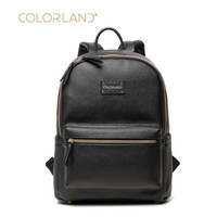 Wholesale Mother Baby Care - Wholesale- Fashion Leather diaper bag backpack Colorland Brand Mother Backpack for travel baby care nappy changing bag women bag Maternity