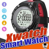 Wholesale Male Night - XWatch Outdoor Sport Smart Watch Waterproof Dust-proof Night Visible Pedometer APP Sleep Monitor For android IOS with retail package 1pcs