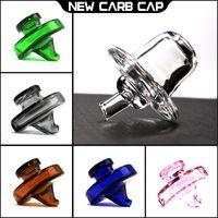 Wholesale ufo cap - 2017 UFO quartz carb cap for banger 2.0 cap with hold for quartz banger nail high quanlity