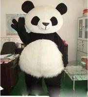 Wholesale Panda Mascots - New Version Chinese Giant Panda Mascot Costume Christmas Mascot Costume Free Shipping
