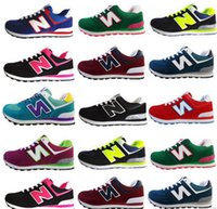 Wholesale 48 Fashion - New Fashion Stan Shoes Smith Sneakers Casual Men's or Women's Sport Shoes Running Shoes White and Green Blue Pink Size 36-48