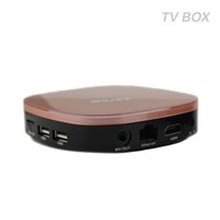 Champagne TV-Boxen Android 5.1 Günstigstes RK3229 Quad-Core 1GB 8GB Smart TV-Box WiFi 3D HDMI TV Günstige Set-Top-Box Media Player