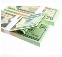 Wholesale Money banknote USD1 for props and Education bank staff training paper fake money copy money children gift