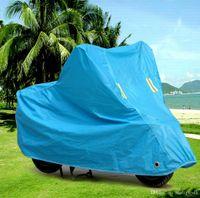 saco de pára-brisa venda por atacado-Motocicleta Moto à prova de poeira À Prova D 'Água UV Capa Protetora Respirável Ao Ar Livre Saco de Transporte Noite Refletivo Pára-brisas Forro ATP106