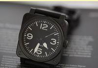 Wholesale Men S Luxury Mechanical Watch - Luxury Fashion Wrist watch Wholesale BELL men watch sports Brand Automatic men 's Watches ROSS rubber strap b019