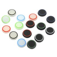 Anello in gomma Analogico Noctilucence Silicone Colourful Cap Thumb Stick Joystick Grip Per Sony PS4 PS3 Xbox 360 Controller Xbox One