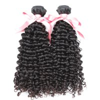 """Wholesale 2pcs Curly Remy - 100% Brazilian Human Hair Weave 8""""~30"""" 2PCS Sell Unprocessed Remy Hair Greatremy Natural Color Dyeable 7A Curly Wave Double Weft Extensions"""