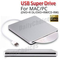 Wholesale Apple Usb Drive - USB External Slot in DVD CD Drive Burner Superdrive for Apple MacBook Air Pro S