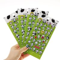 Wholesale stationery wholesalers for sale - Panda D Bubble Decoration Decal DIY Diary Album Kawaii Stationery Notes Memo Pad Stickers