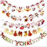 paracaidismo santa decoración al por mayor-2.8m Santa Lahua flags: año nuevo Christmas Day Party Decoration Santa Snowman paracaídas TO244